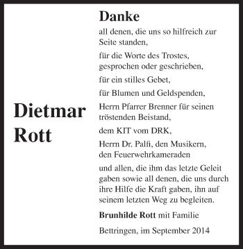 Zur Gedenkseite von Dietmar