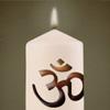 Kerze für Sandro Schabel  für meine Dote Uschi  für